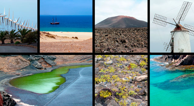 Lanzarote, like the rest of the Canary islands, enjoys an ideal climate throughout the year.